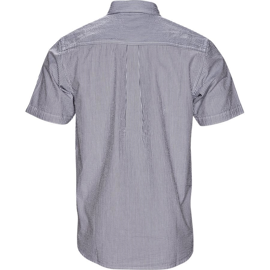 S/S ALDER SHIRT I024136 - S/S Alder Shirt - Skjorter - Regular - STONE BLUE/WHI - 2